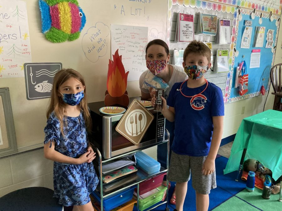 """DCC Second Grade Enjoy """"Camp Learned A Lot"""" Activity"""