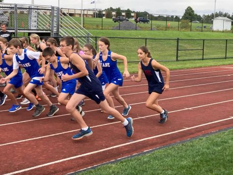 DCC Cross Country Runner, Trent Labenne, Wins Middle School Quad-Meet