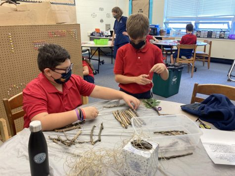 DCC 5th Graders Create STREAM Projects as Part of Native American Unit