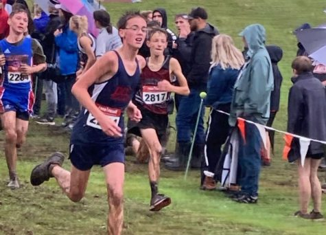 Cardinals Cross Country Team Battles the Rain and Mud at Rocky Grove Invitational