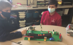 DCC Seventh Graders Succeed at Lego Engineering Challenge